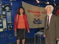 С.В.Пацаева и А.А.Масленников на НИС КВП. Июнь 2016 г.