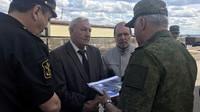 Николай Буров, Владимир Прощенко и генерал-полковник Андрей Картаполов