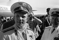Ю.А.Гагарин и Н.П.Каманин
