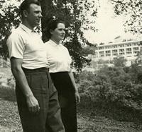 Юрий Гагарин с женой