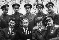Юрий Гагарин в отряде космонавтов