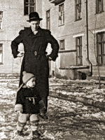 В.И.Пацаев и Дима в Долгопрудном