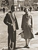 В.И. и В.А. Пацаевы летом 1957 г.